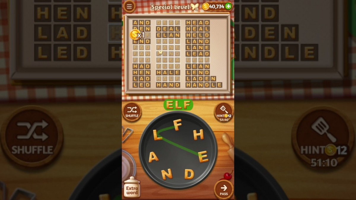 Word Cookies Basil Special Level 10 Top Chef Solved