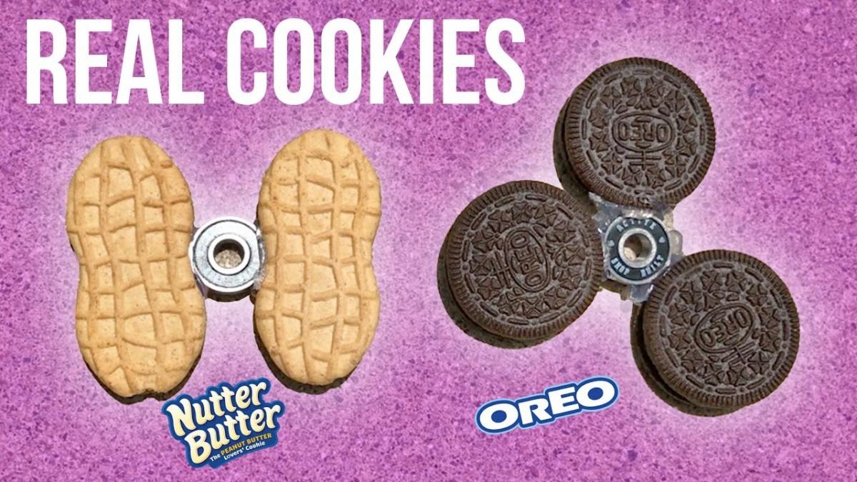 Oreo Fidget Spinner!! (cookie Mod)