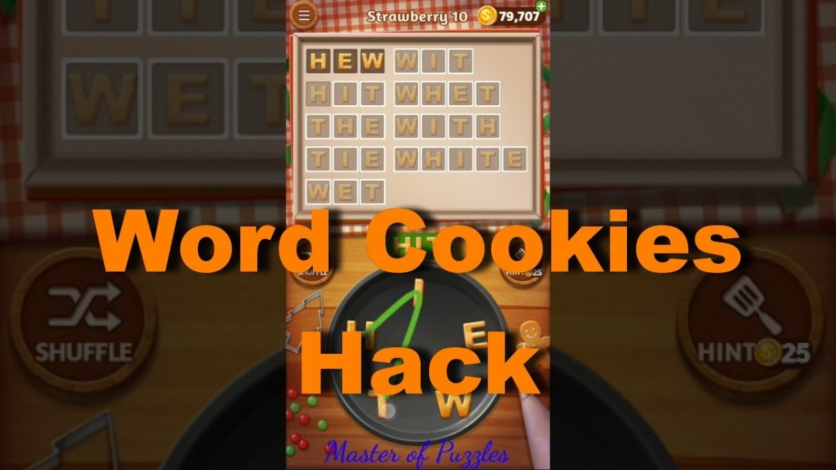 Word Cookies Hack Unlimited Coins