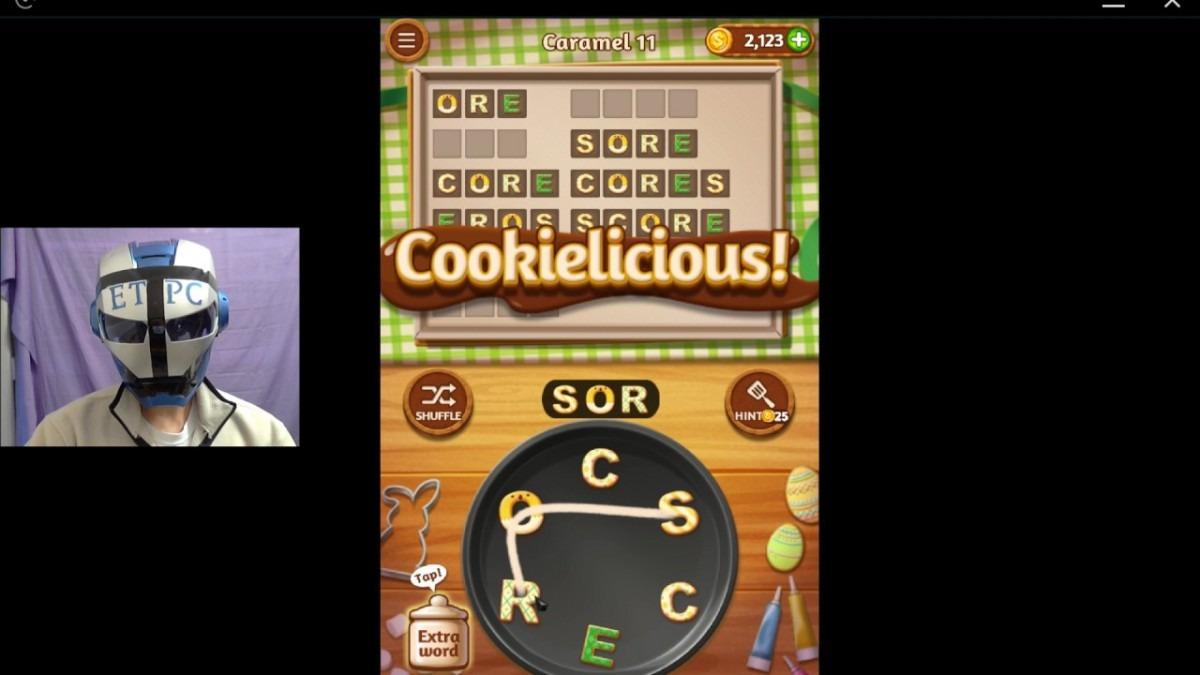 Word Cookies Caramel 11 Solved