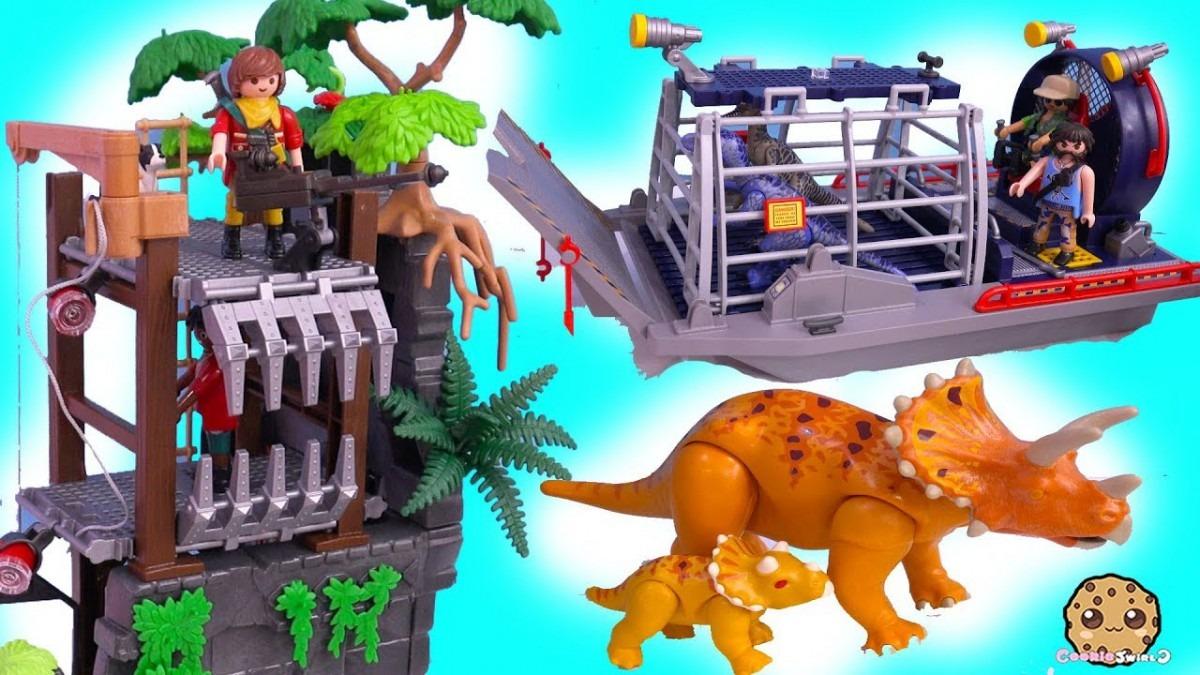 Dinosaur Haul ! Playmobil Dino Explorer Toy Sets