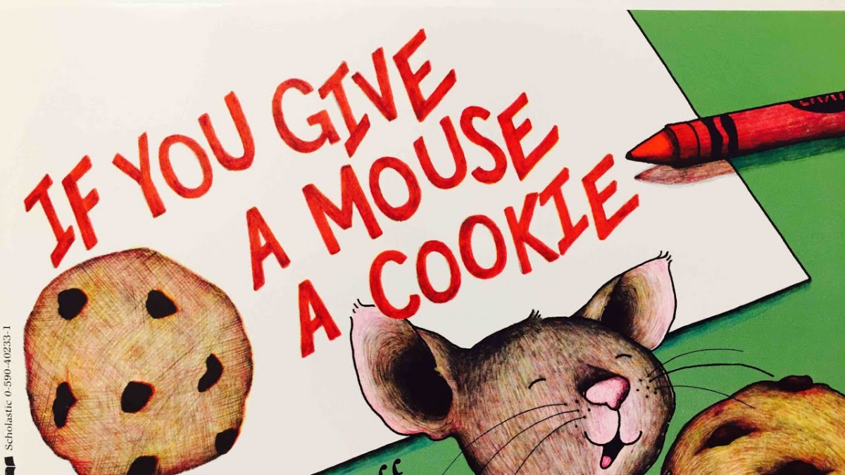 If You Give A Mouse A Cookie By Laura Joffe Numeroff Read Aloud By