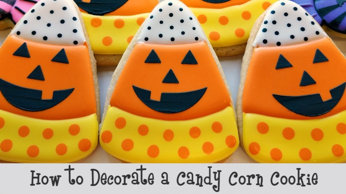 How To Make A Candy Corn Cookie
