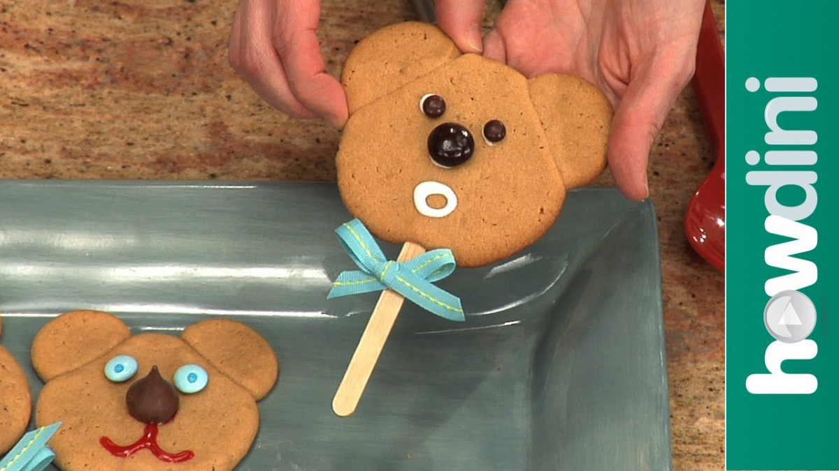 How To Make Cookies  Teddy Bear Cookies