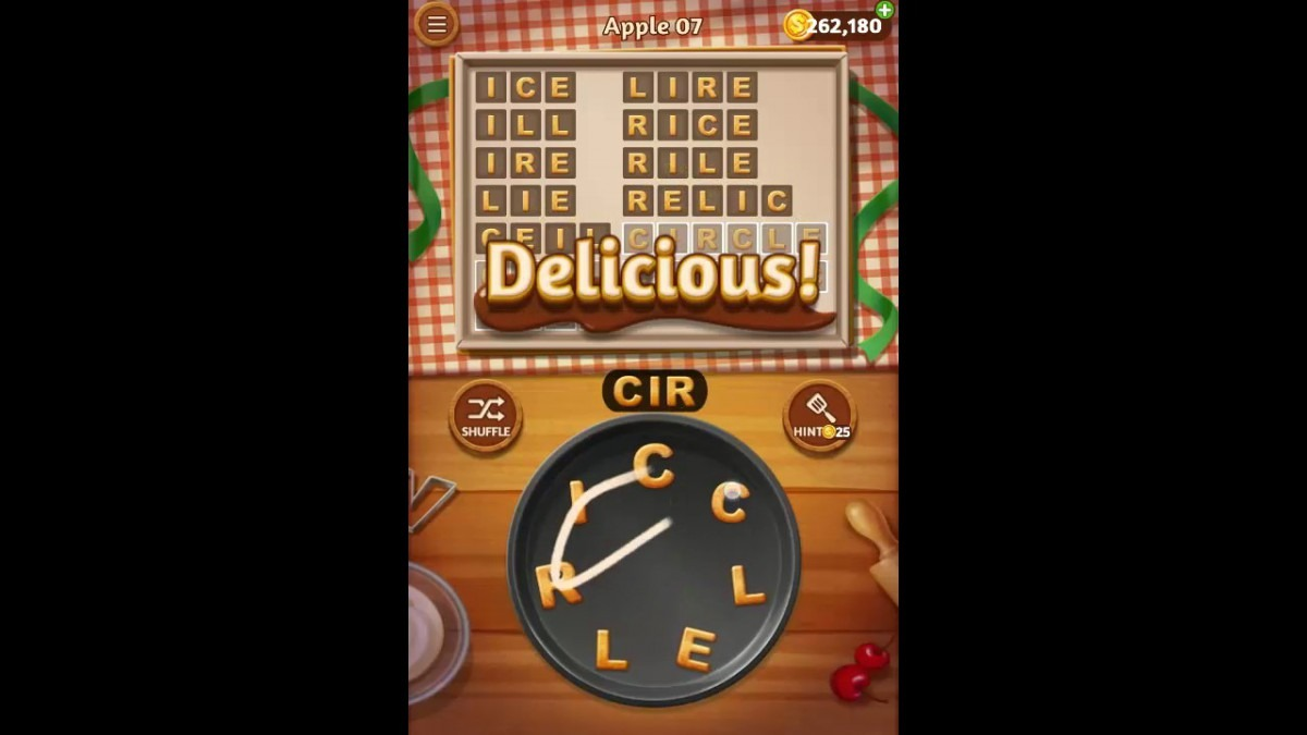 Word Cookies Apple Pack Level 7 Answers