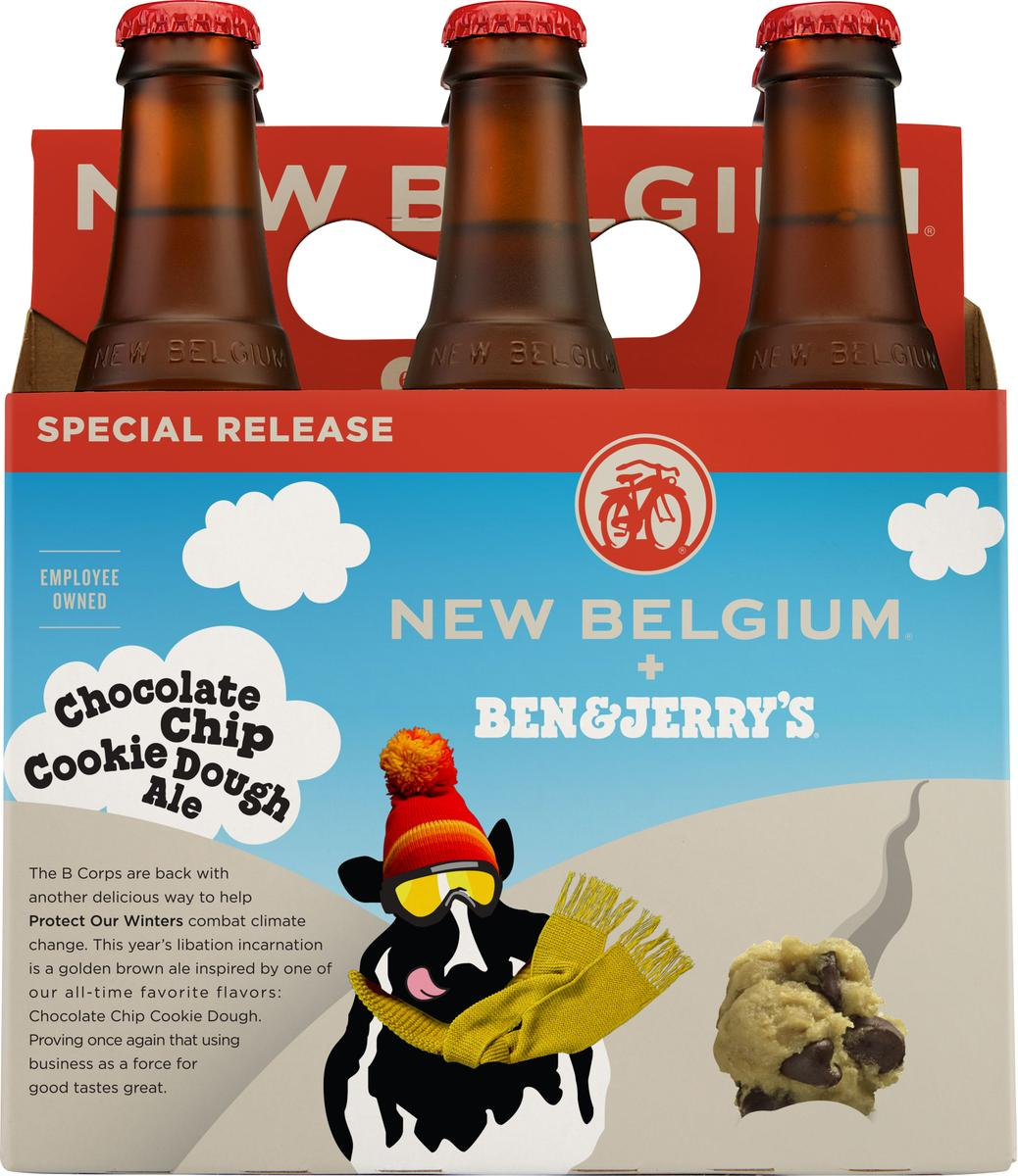 New Belgium Brewing To Release Second Ben & Jerry's Ice Cream