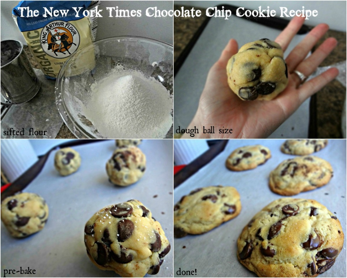 The Cooking Actress  The New York Times Best Chocolate Chip Cookie
