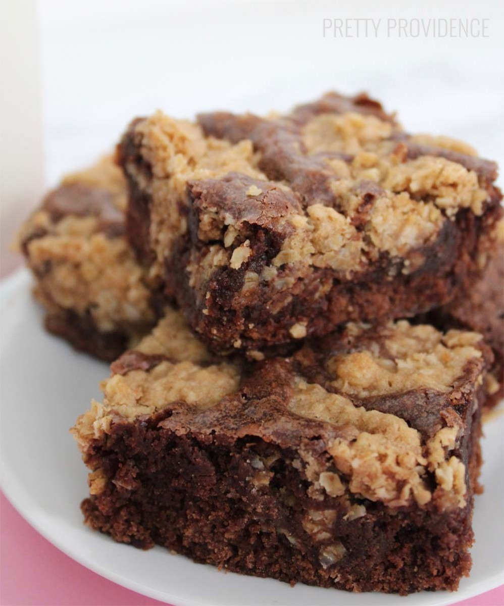 Oatmeal Cookie Brownies
