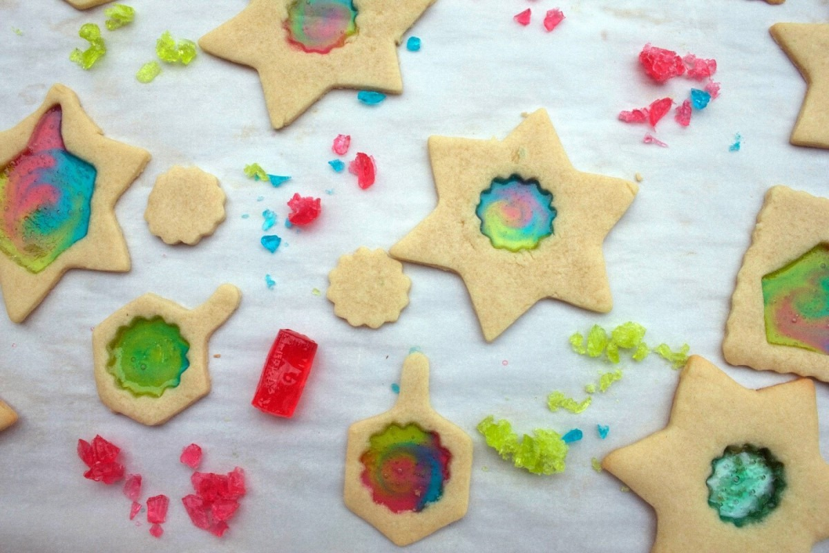 Hanukkah Recipe  Stained Glass Cookies