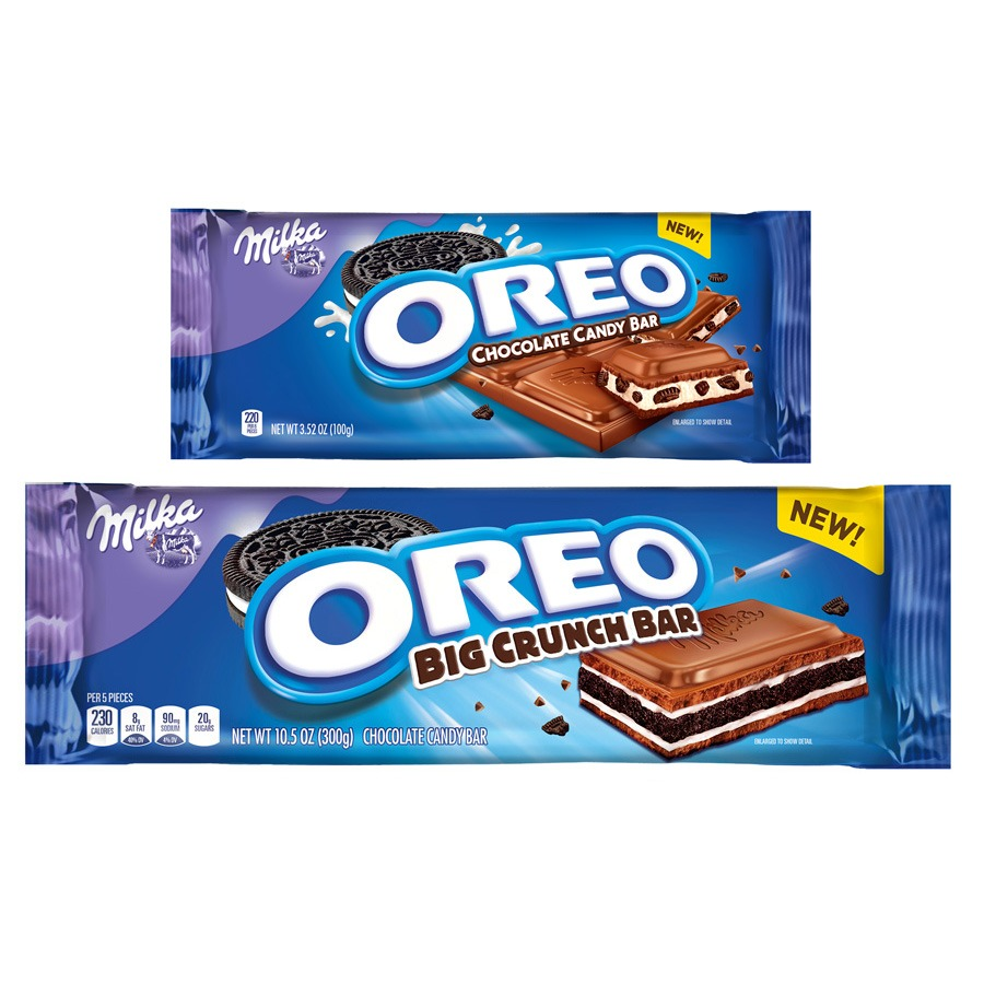 New Oreo Candy Bars Will Definitely Be Better Than All Those Weird