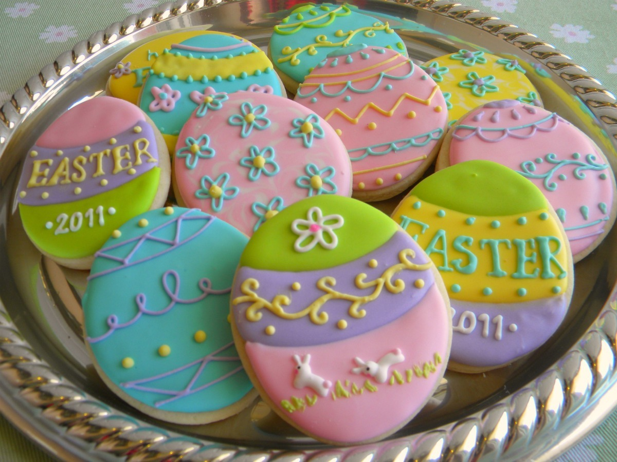 15 Adorable Easter Cookie Decorating Ideas