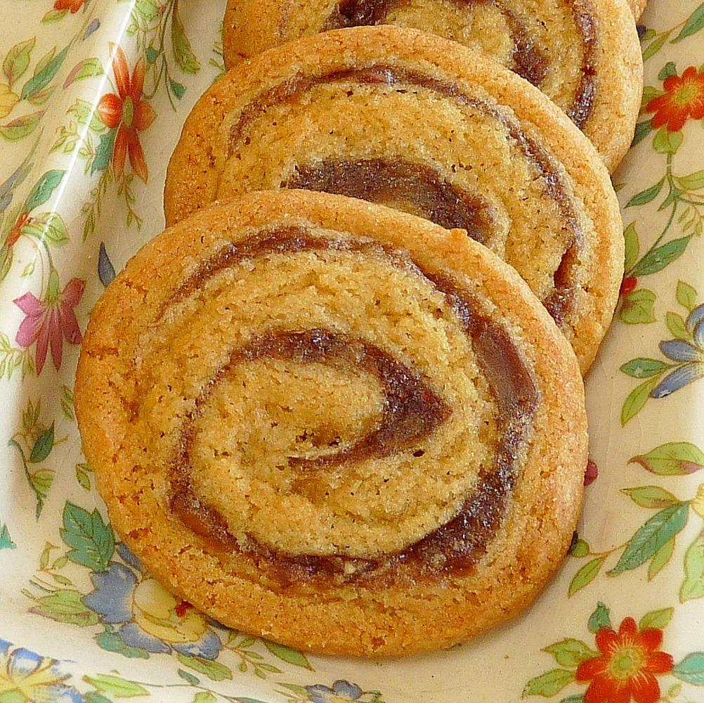 Date Pinwheel Ice Box Cookies