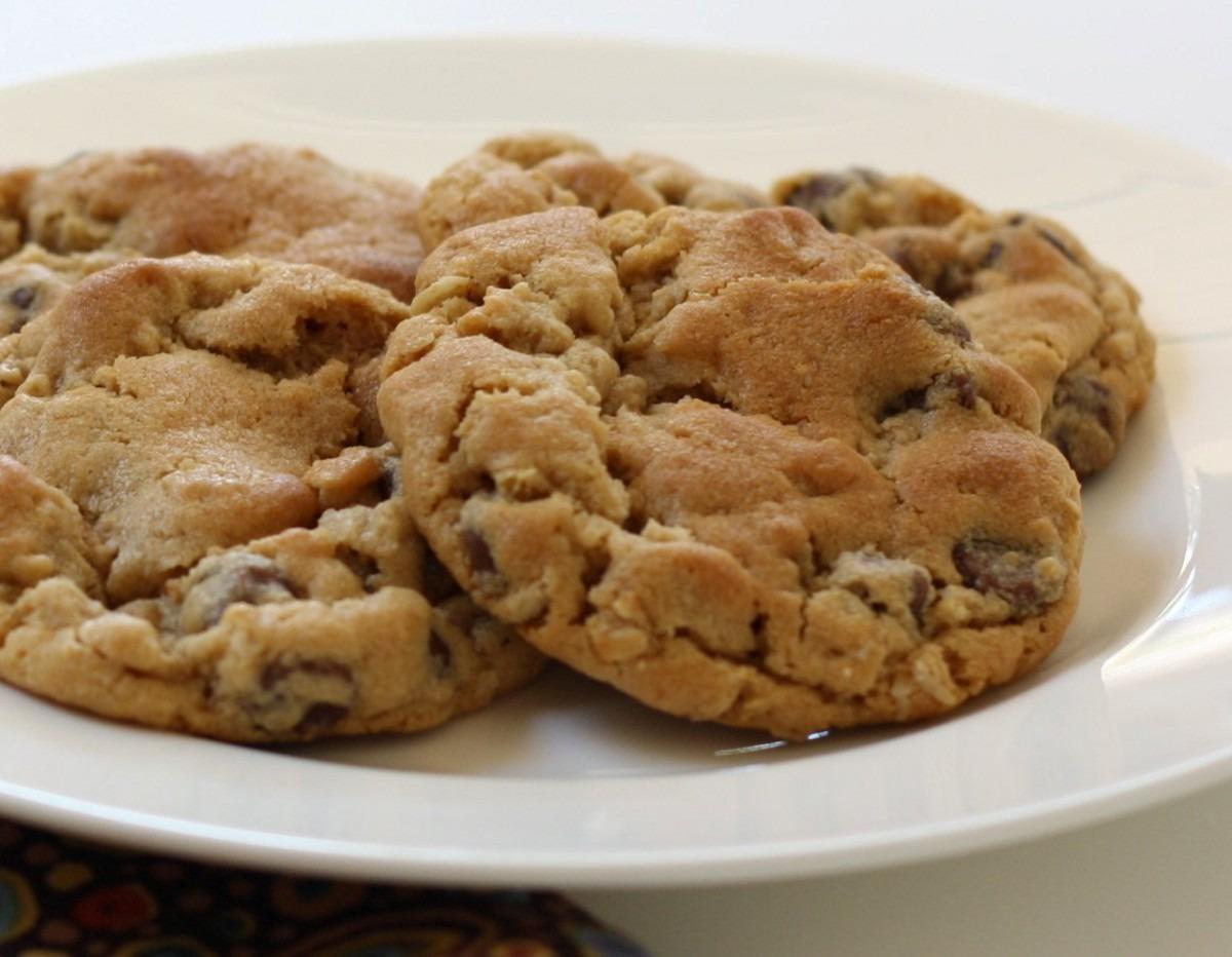 Peanut Butter Oatmeal Cookies Recipe — Dishmaps