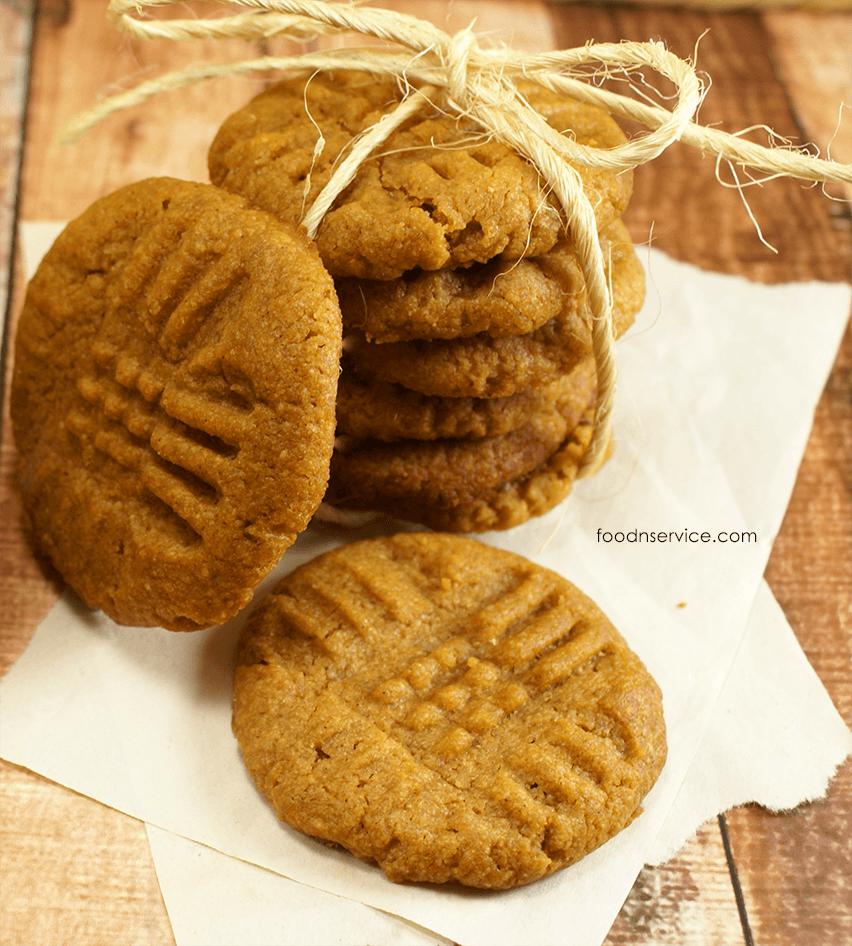 Peanut Butter Pumpkin Cookies Recipe • Food N Service