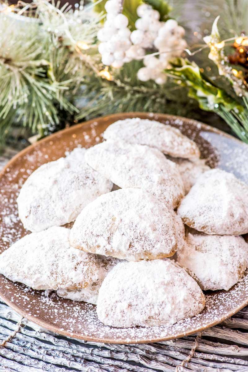 Pecan Meltaway Cookies