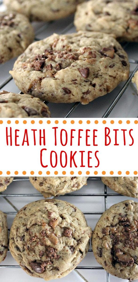 Heath Toffee Bits Cookies