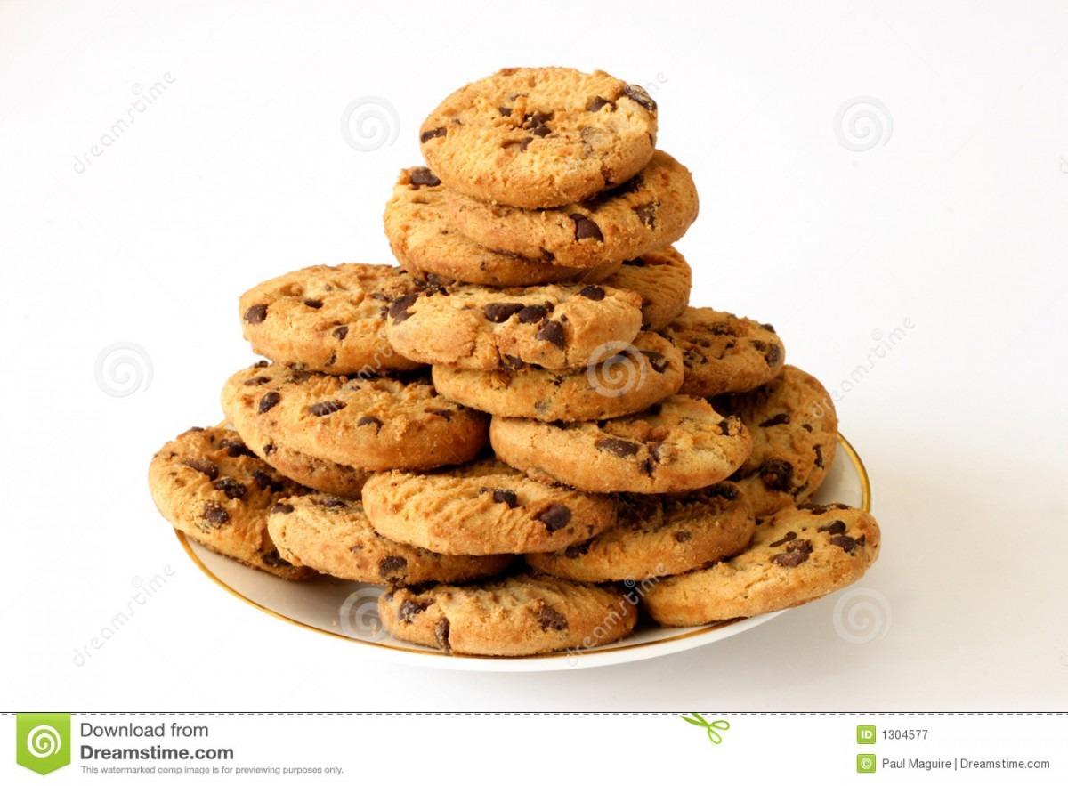 Plate Of Cookies Stock Image  Image Of Arrangement, Food