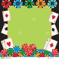 Playing Card Party Invitations
