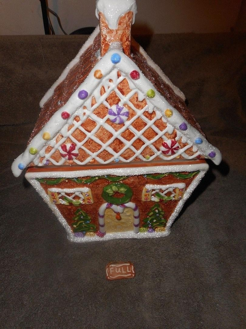Princess House Exclusive Gingerbread Cookie Jar Fabulous Ebay