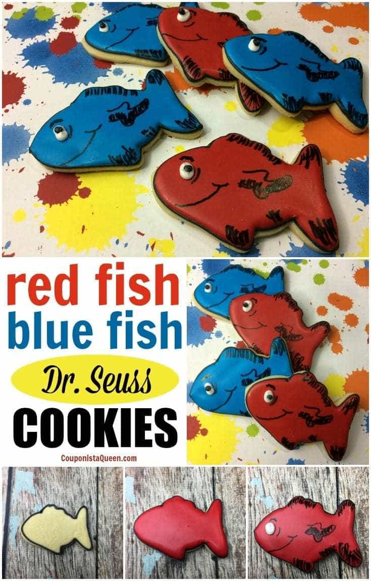 Red Fish Blue Fish Dr  Seuss Cookies – Couponista Queen ~ Saving