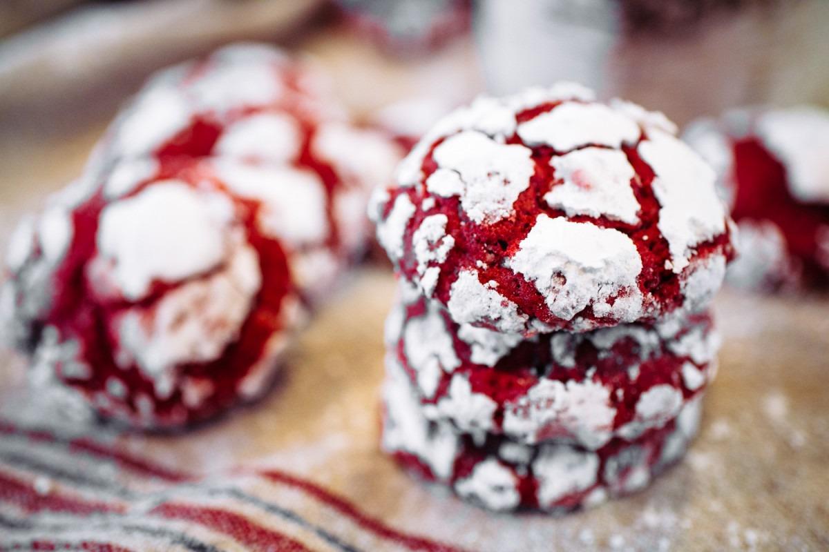 Red Velvet Crinkles · The Crepes Of Wrath
