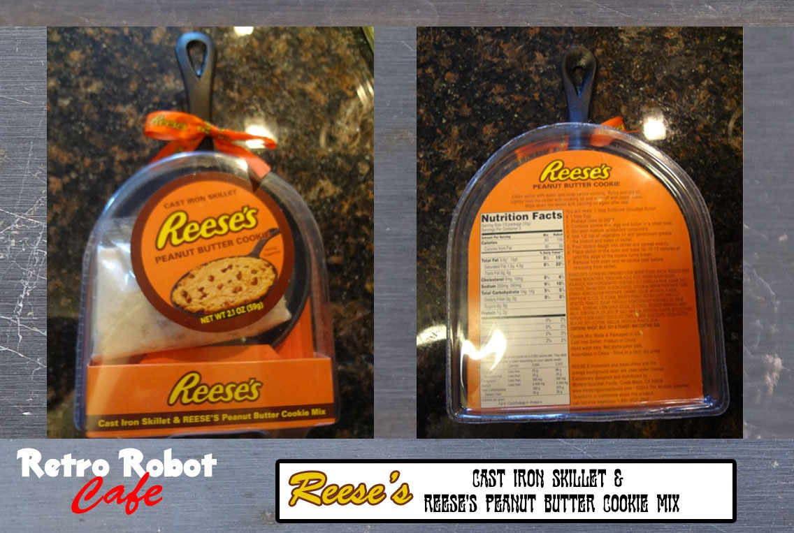 Reese's Cast Iron Skillet And Reese's Peanut Butter Cookie Mix