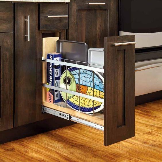Rev A Shelf Cookie Sheet Organizer Wonderful Base Cabinets Shops