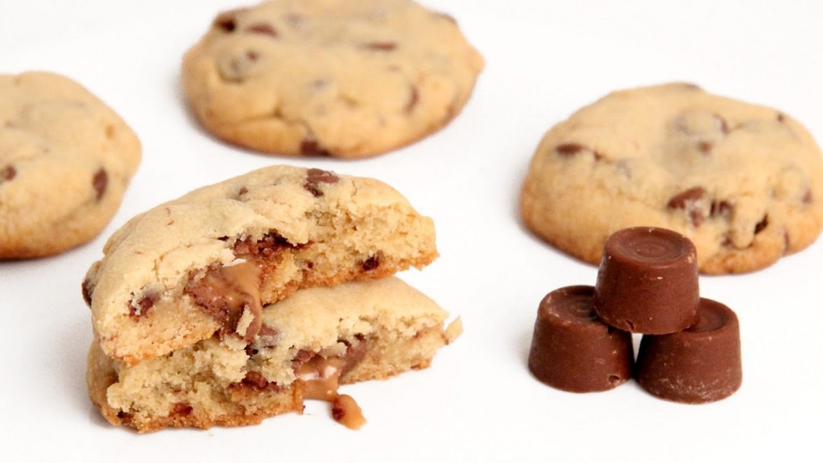 Rolo Stuffed Chocolate Chip Cookie Recipe