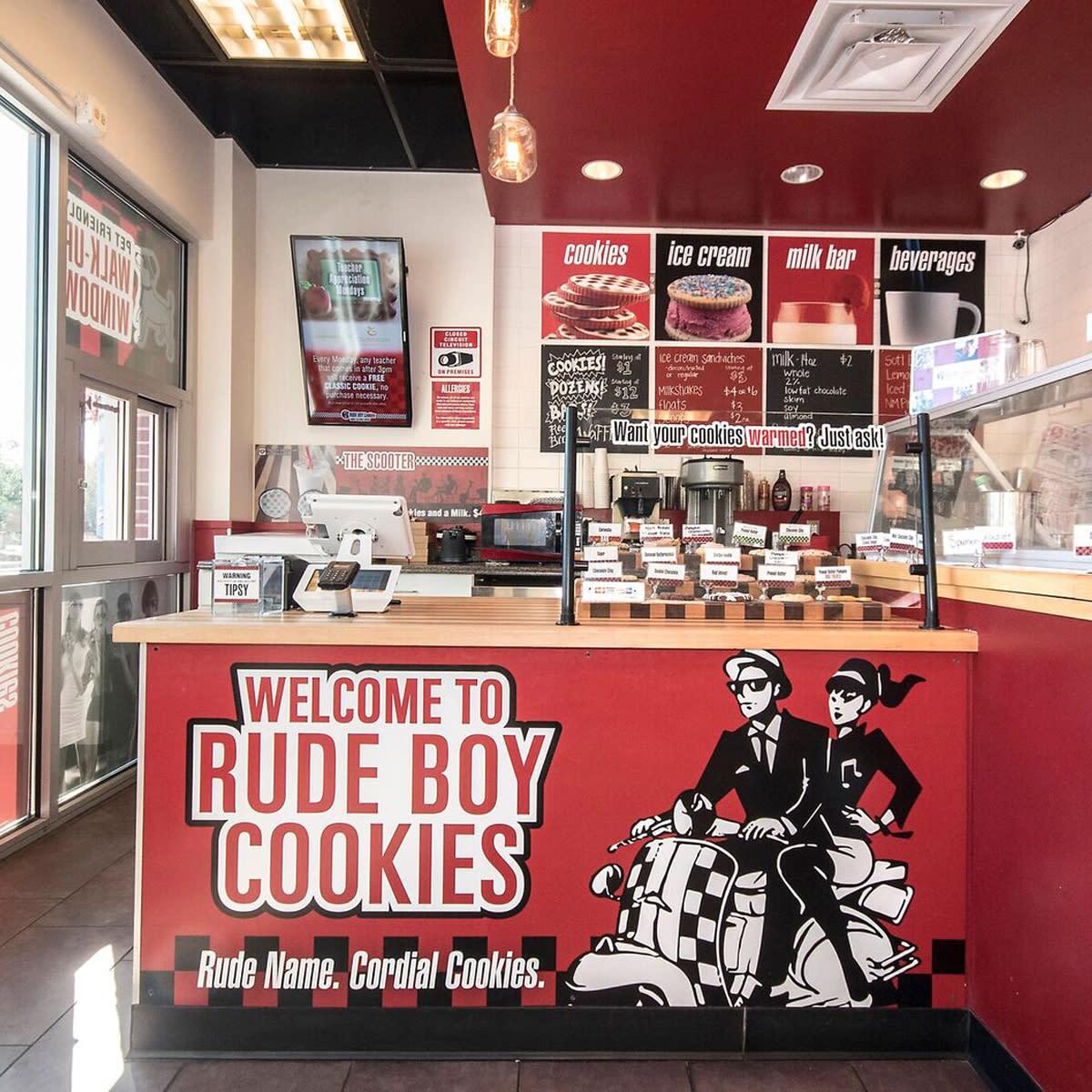 Rude Boy Cookies