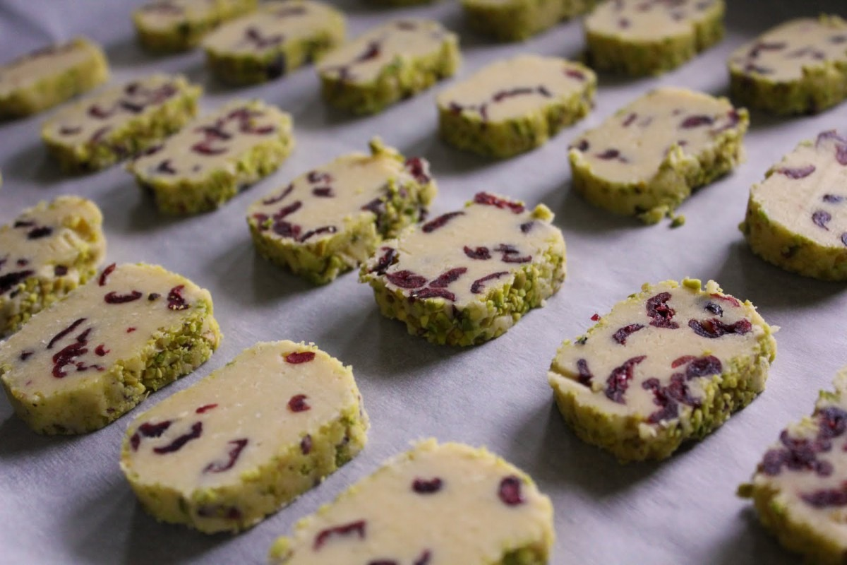 Cranberry And Pistachio Cookies