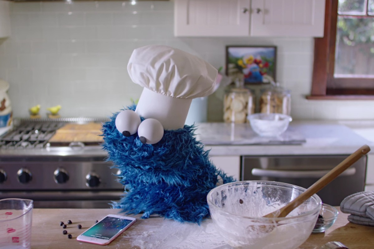 C Is For Cookie Monster In An Iphone Siri Ad