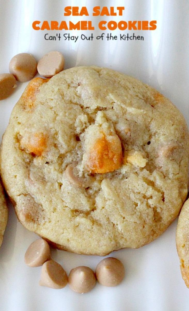 Sea Salt Caramel Cookies