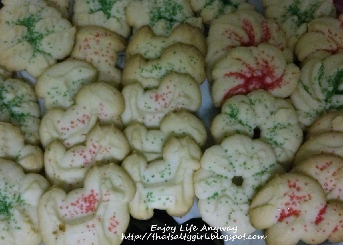 Enjoy Life Anyway  Easiest Cookie Press Cookies