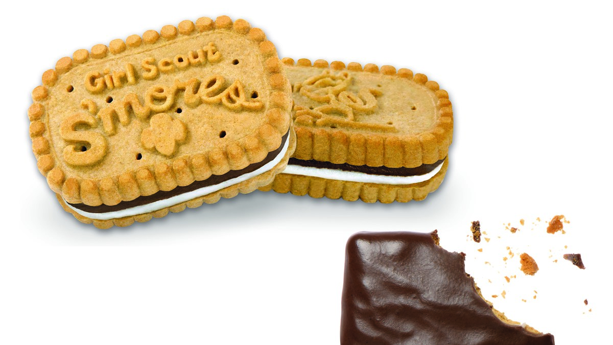 New S'mores Girl Scout Cookies Are Here