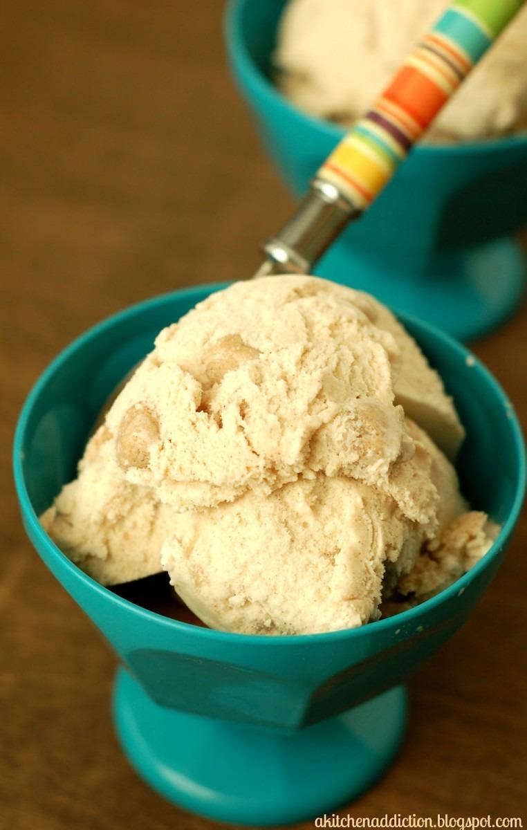 Snickerdoodle Cookie Dough Ice Cream