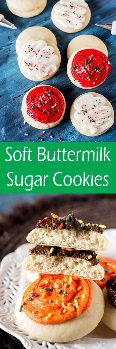 Buttermilk Sugar Cookies {soft Lofthouse Cookie Copycat Recipe}