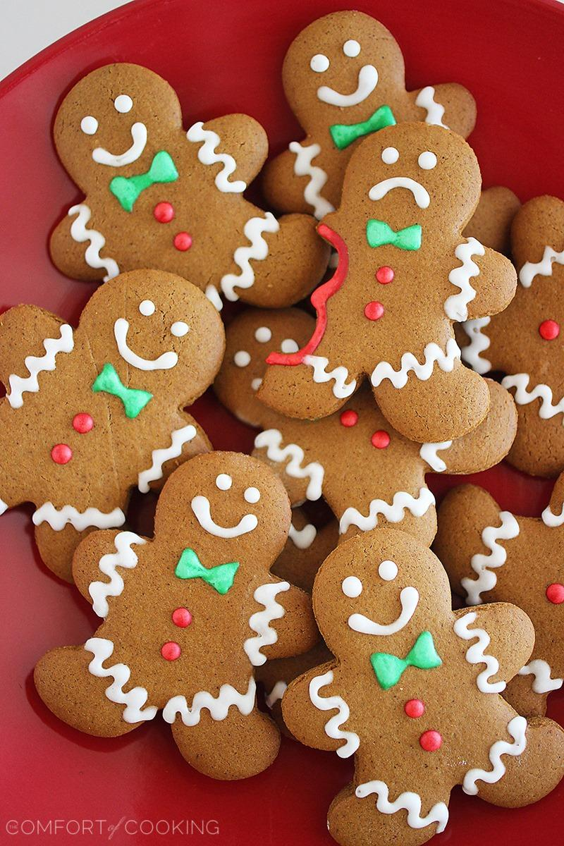 Spiced Gingerbread Man Cookies