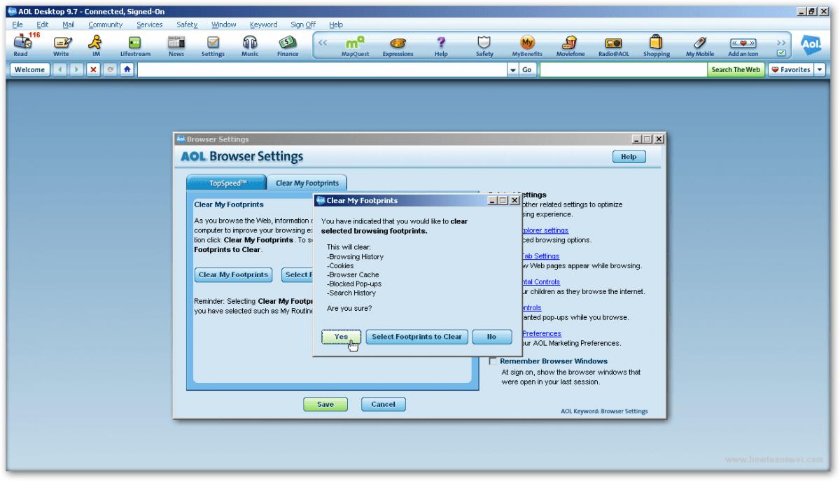 Delete Cookies Windows 7