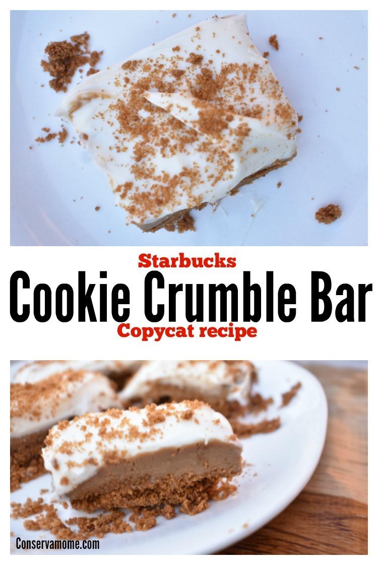 Starbucks Cookie Crumble Bar Copycat Recipe