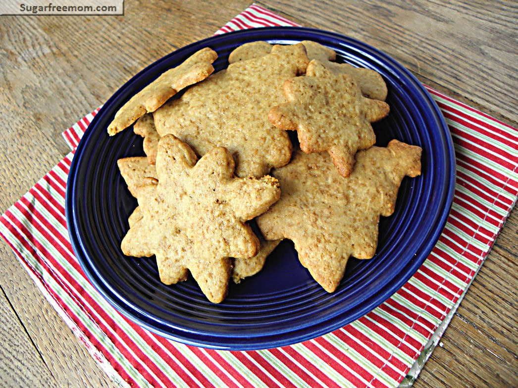 Whole Wheat Refined Sugar Free Sugar Cookies