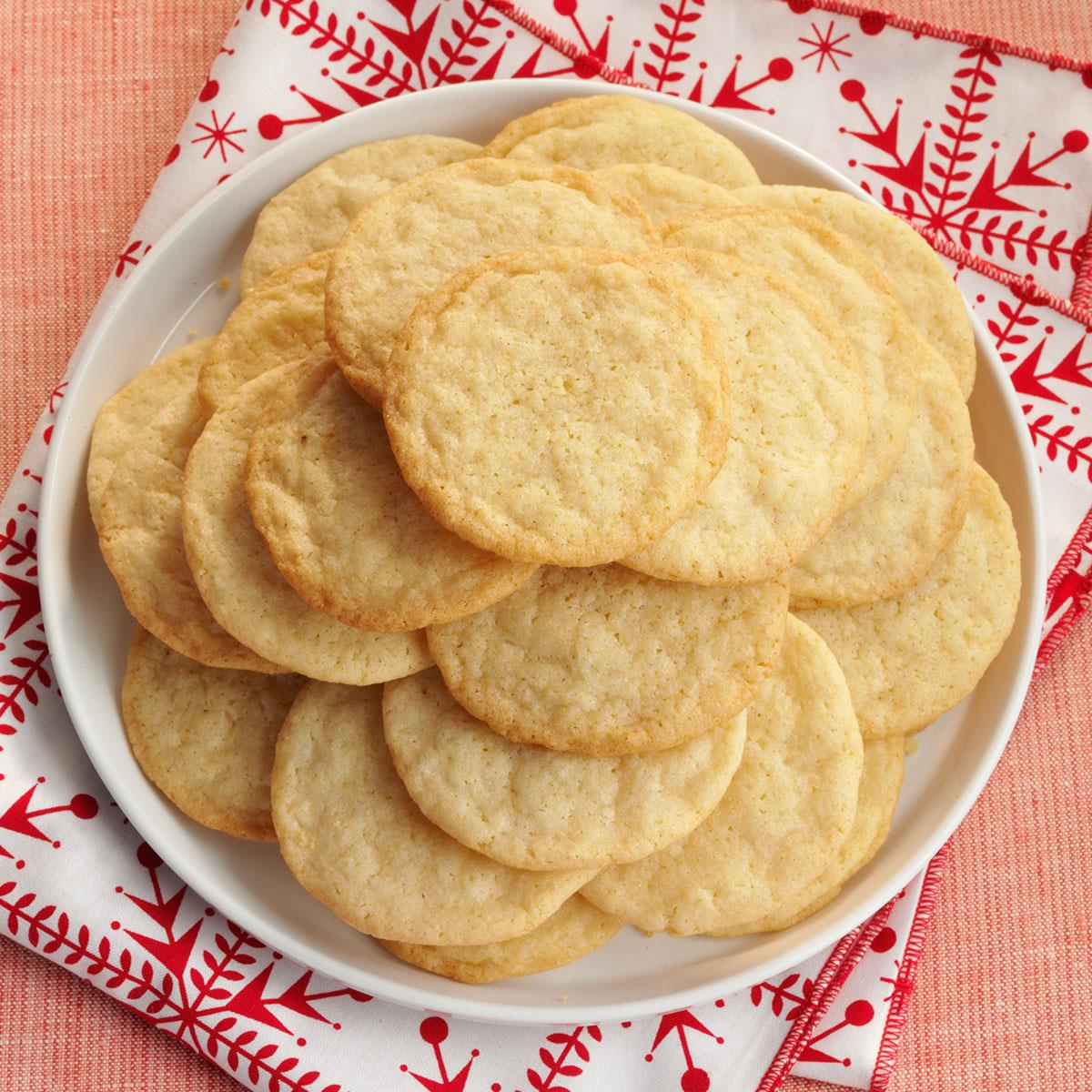 Vanilla Wafer Cookies Recipe