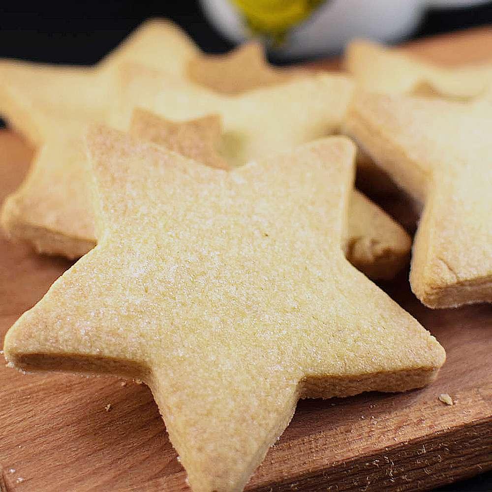 30 Minute Simple Vegan Shortbread Recipe