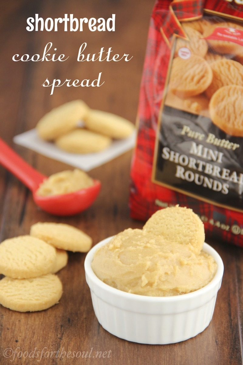 Shortbread Cookie Butter Spread