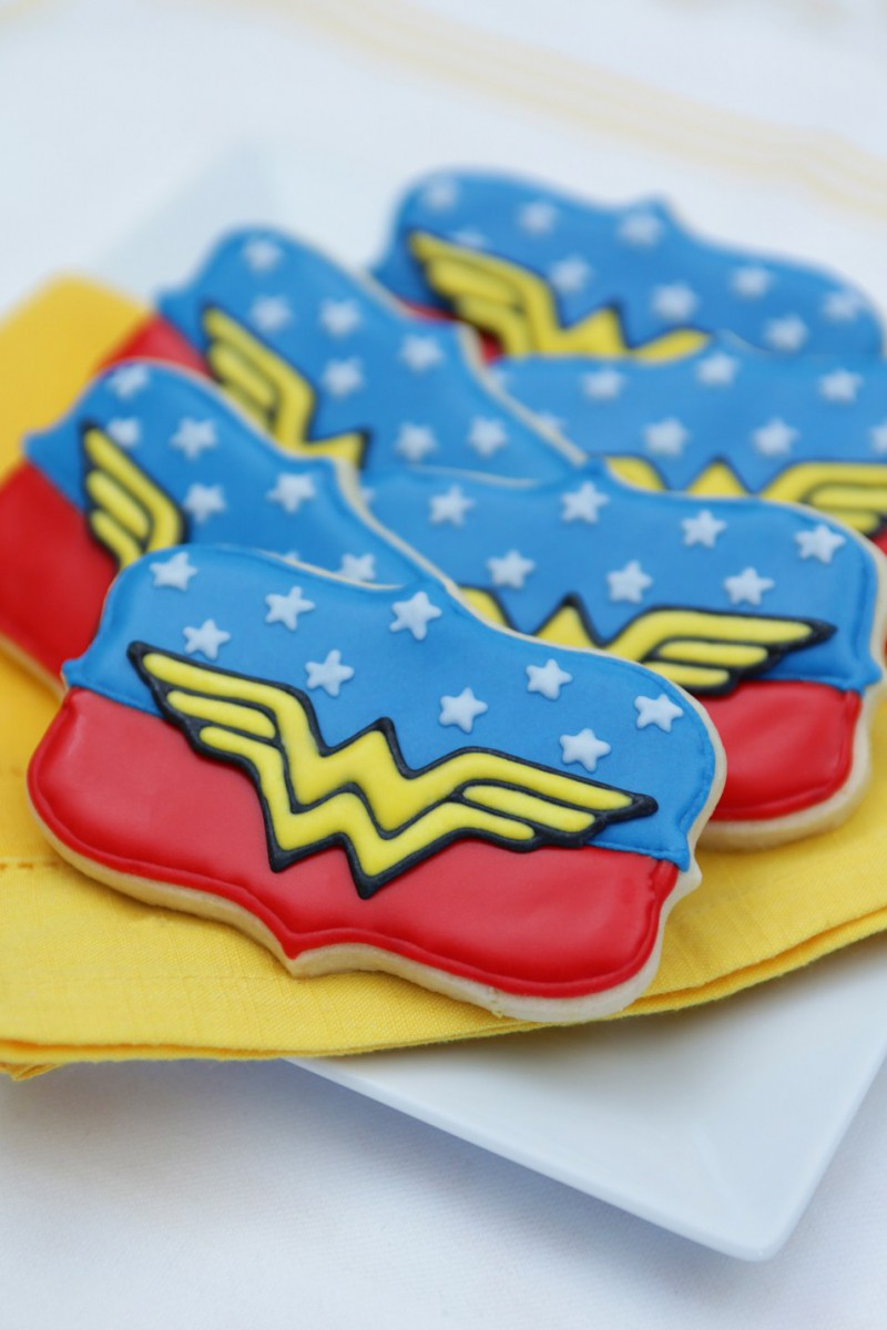 Easy Recipe For Wonder Woman Cookies
