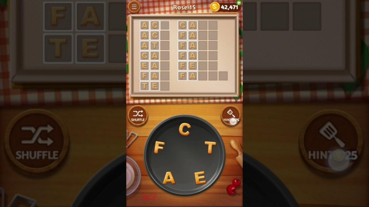 Word Cookies Rose 15 Answers  Word Cookies Rose Answers