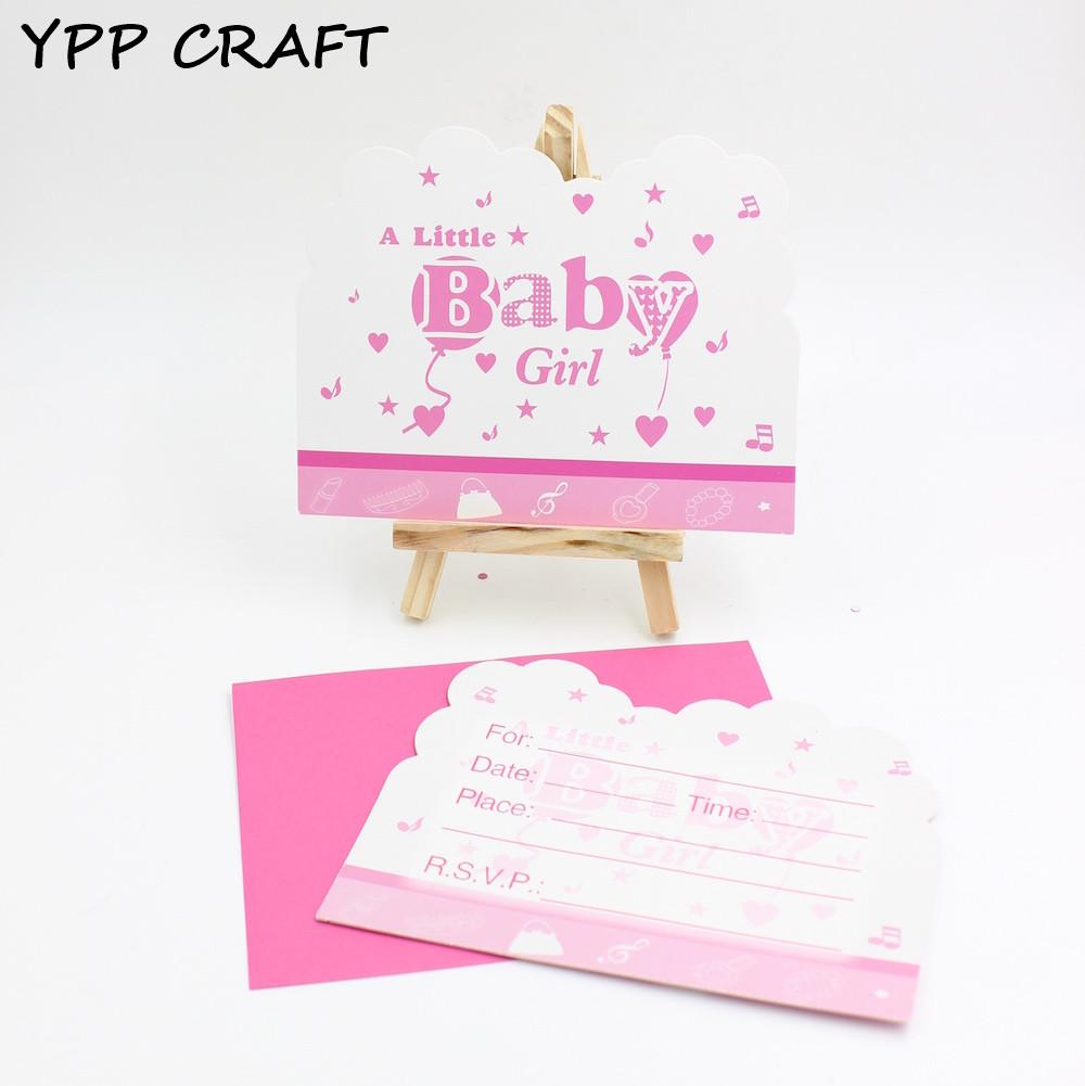 Ypp Craft Baby Shower Party Invitation Cards Birthday Party