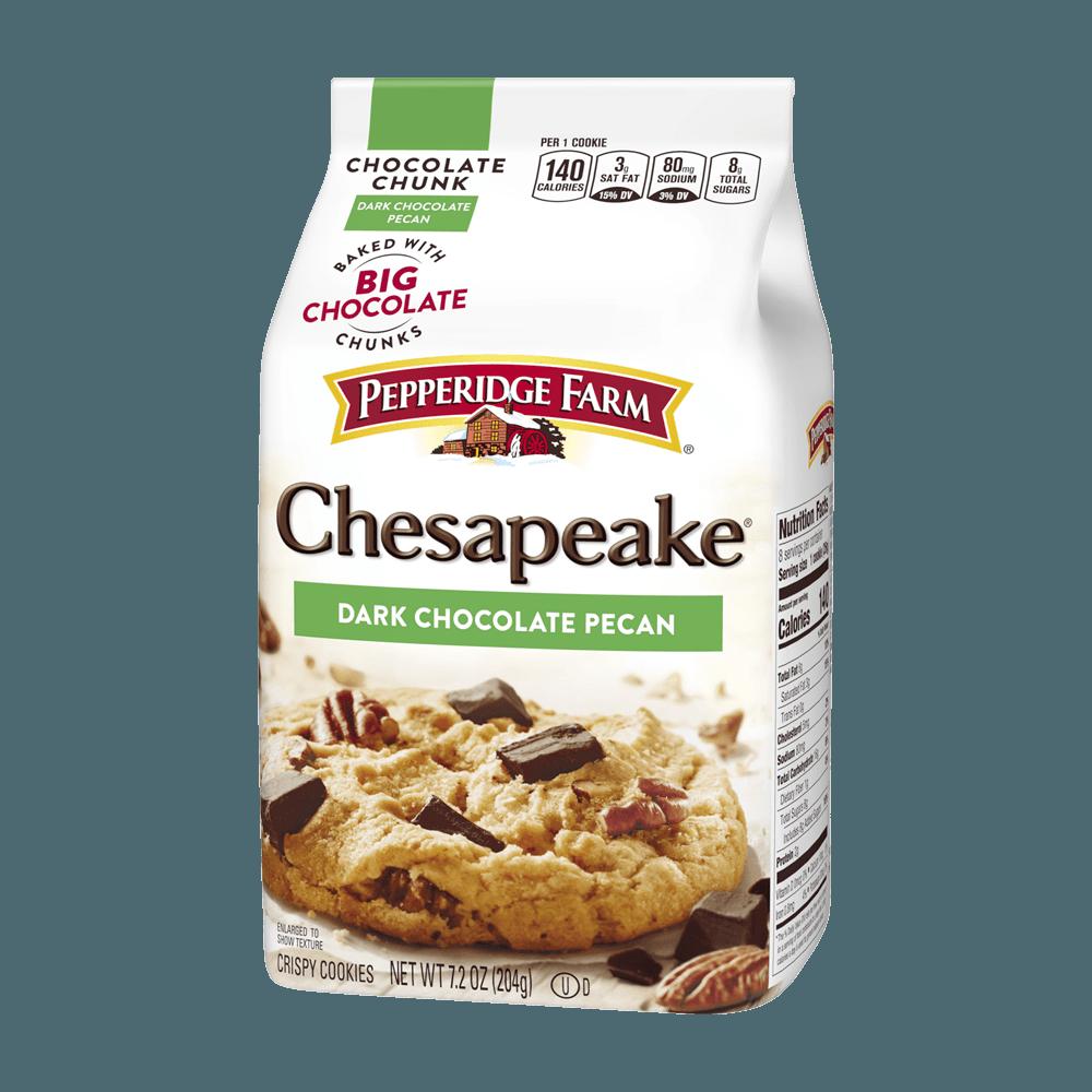 Chesapeake™ Crispy Dark Chocolate Pecan Cookies