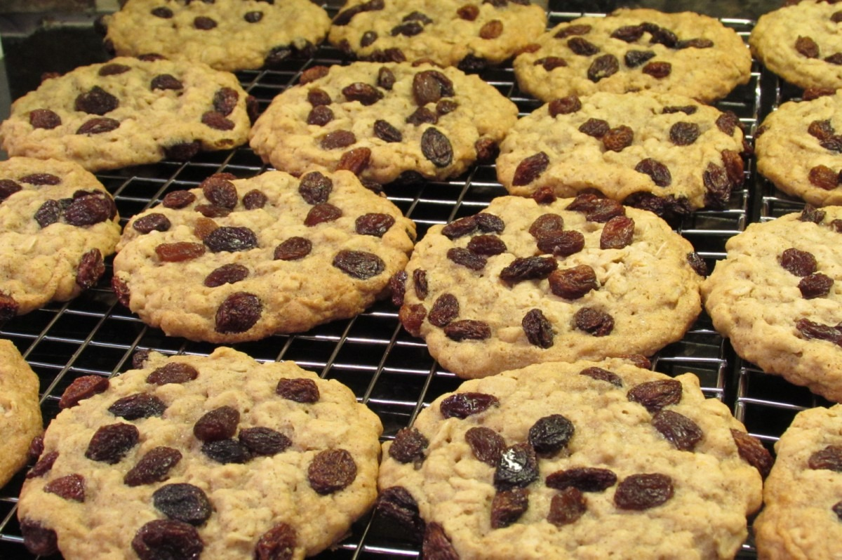 Oatmeal Raisin Cookies And The Quaker Oats Vanishing Recipe