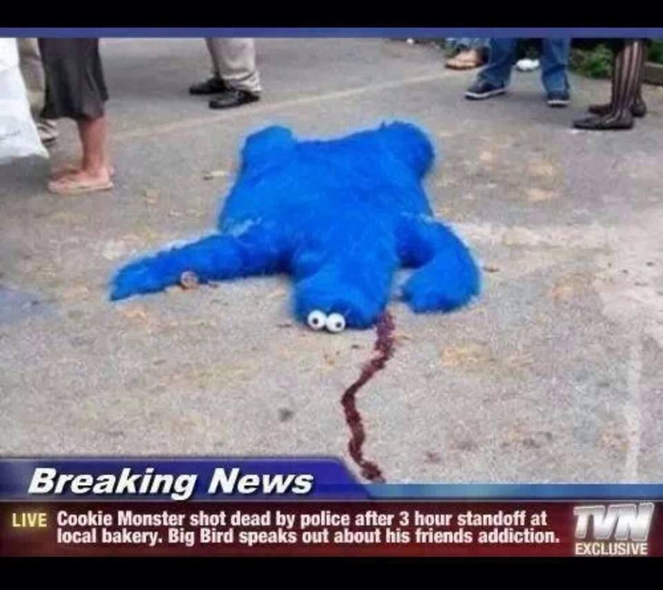 Cookie Monster Rip
