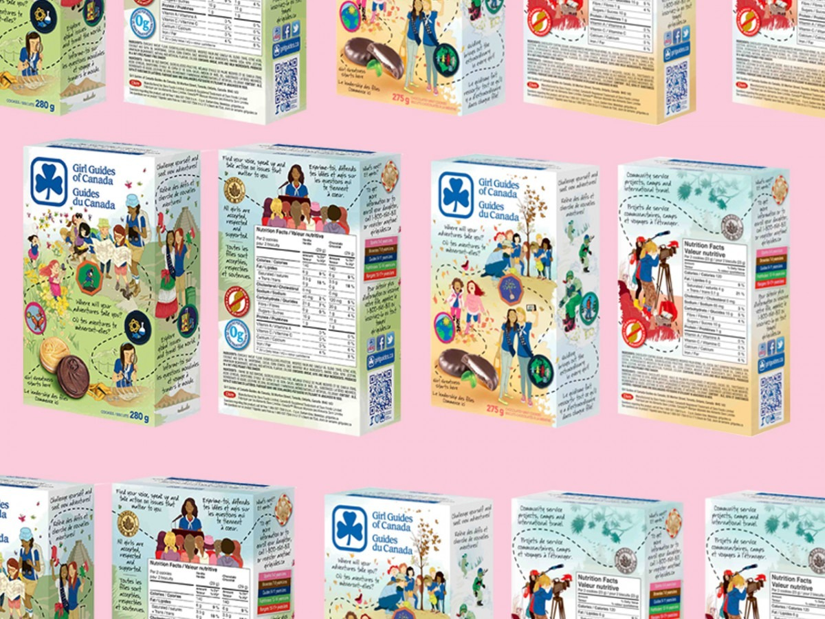 A Look At Girl Guide Cookies Around The World (the U S  Has S'mores!)